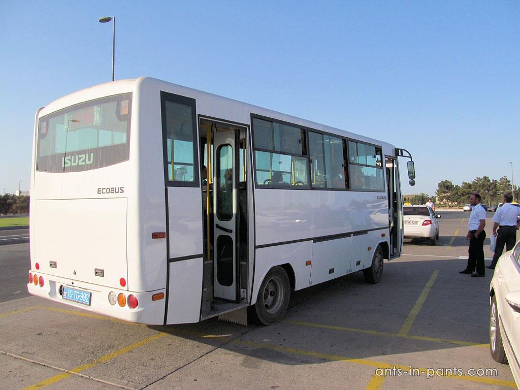 как добраться из Аэропорта Баку