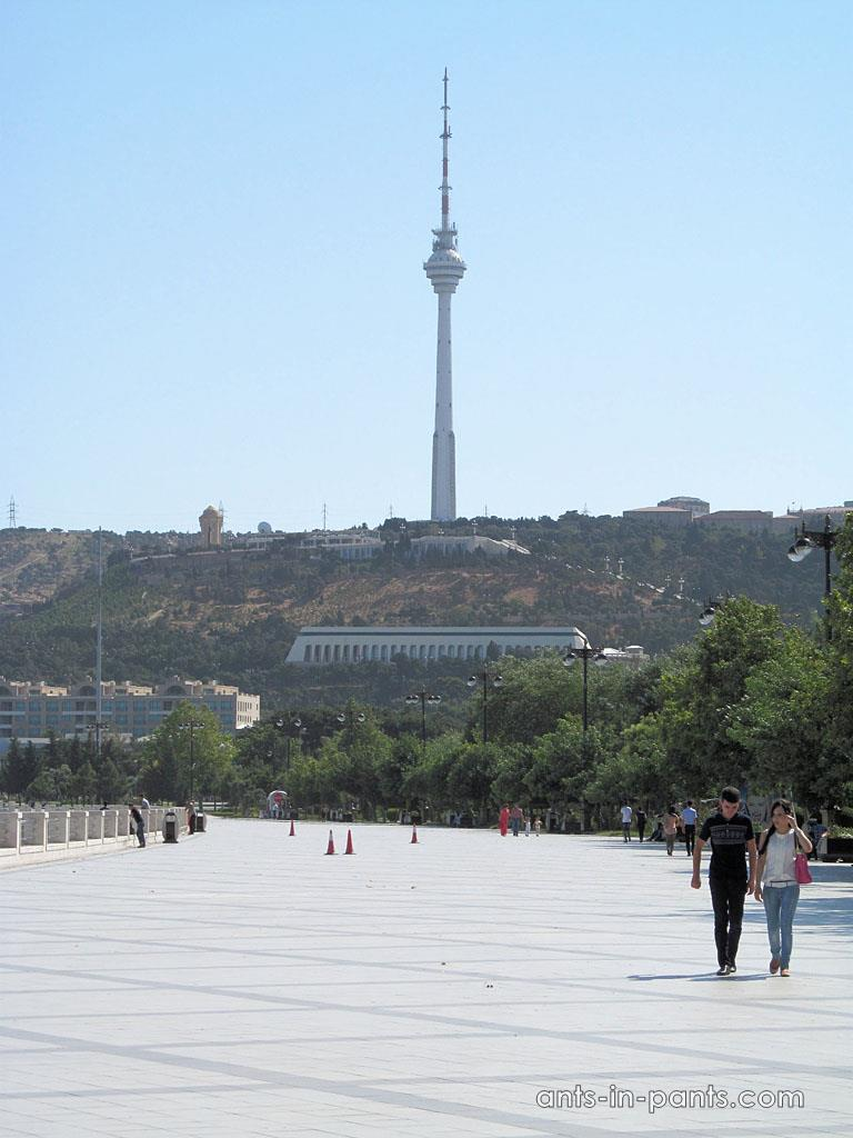 TV tower in Baku