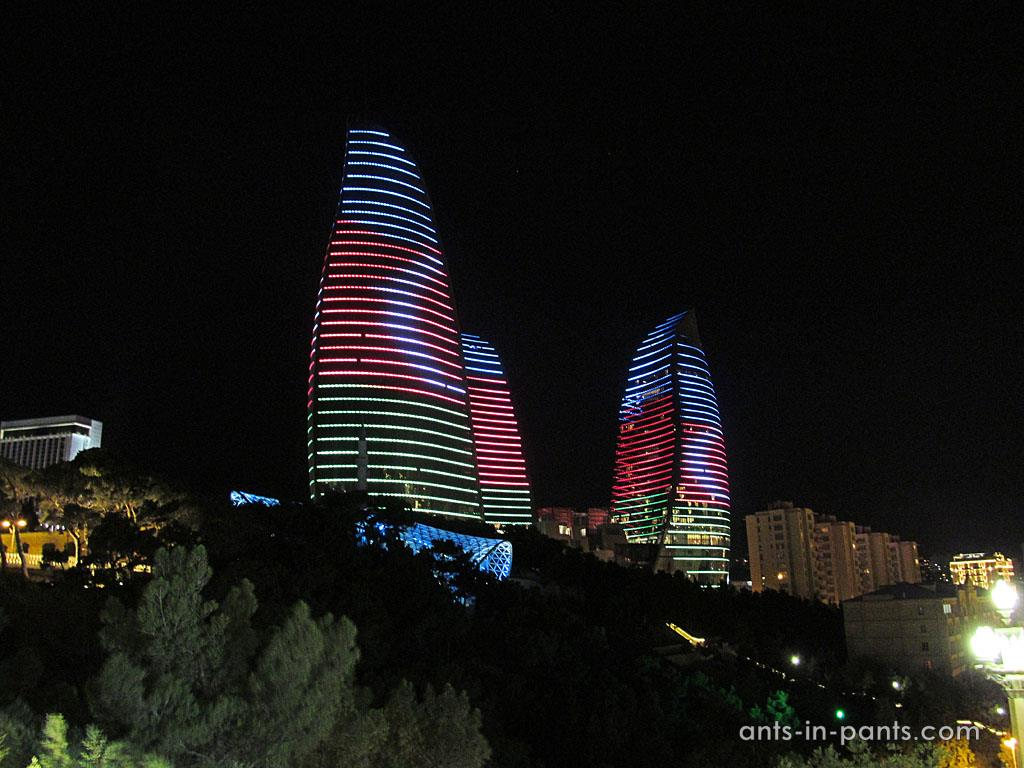 Nightlife in Baku