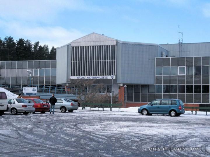 Рижский музей автомбилей