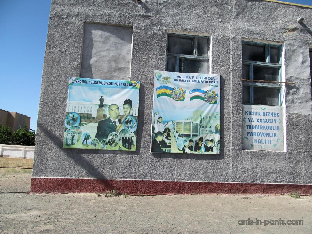 Агит плакаты Узбекситана