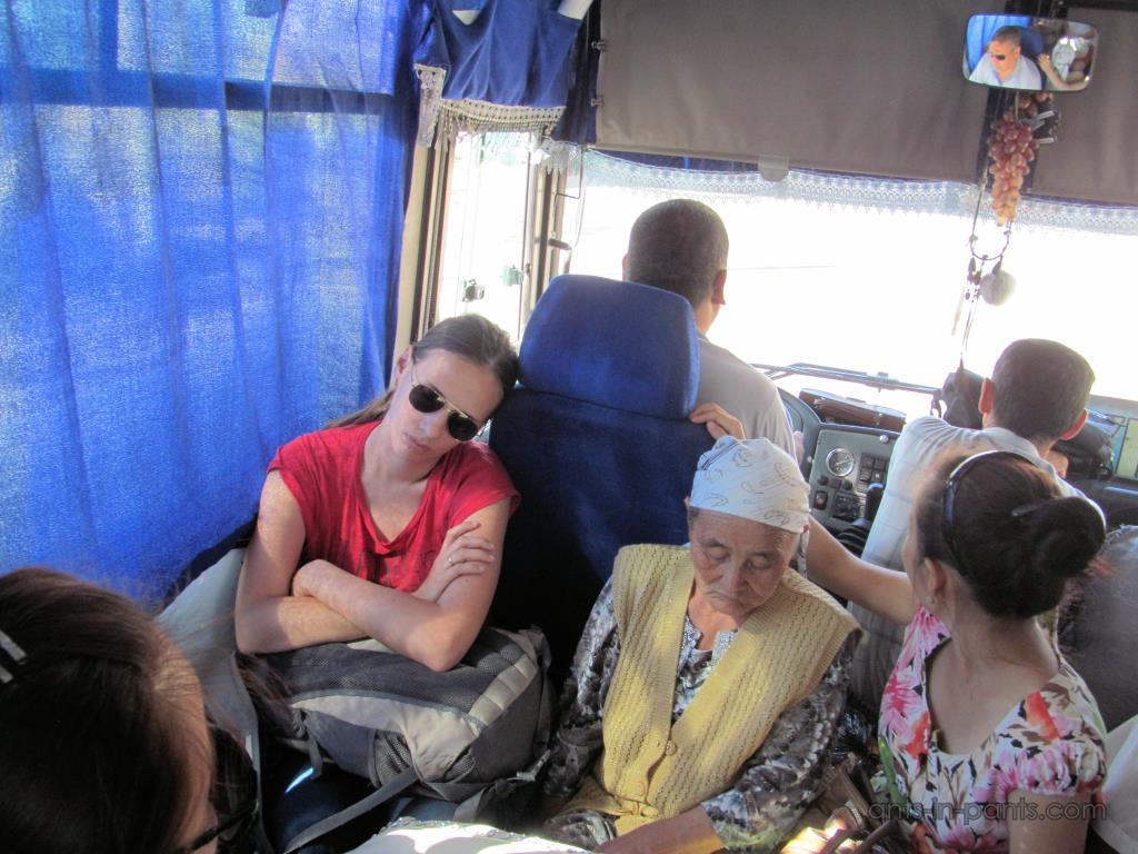 Узбекский автобус