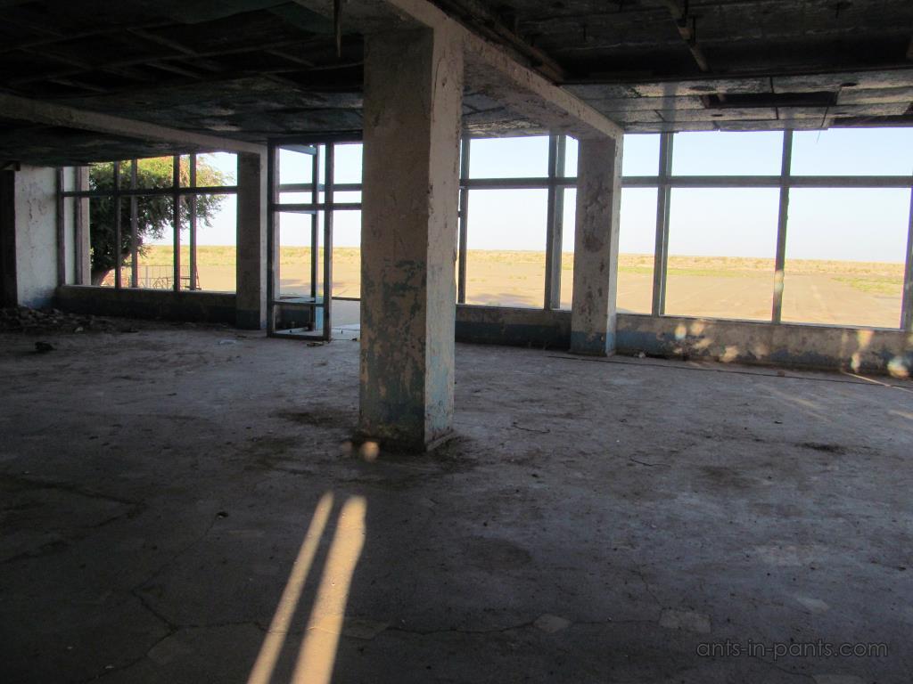 Заброшенный аэропорт в Муйнаке