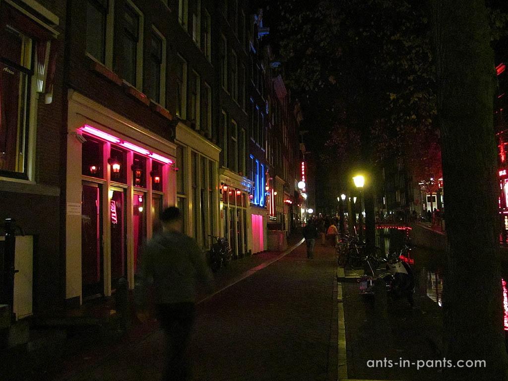 район красных фонарей амстердам проститутки