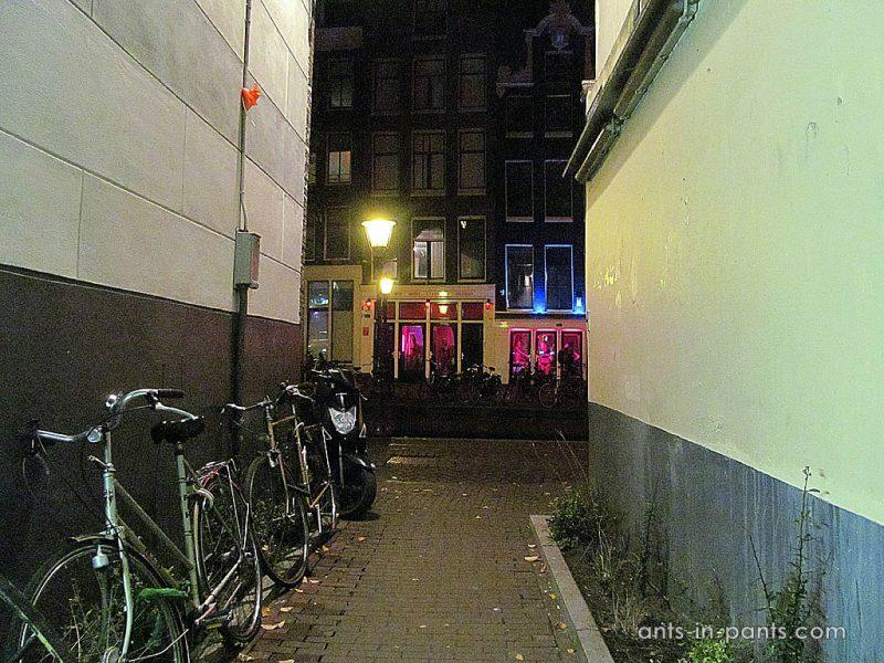 Амстердам. Проститутки