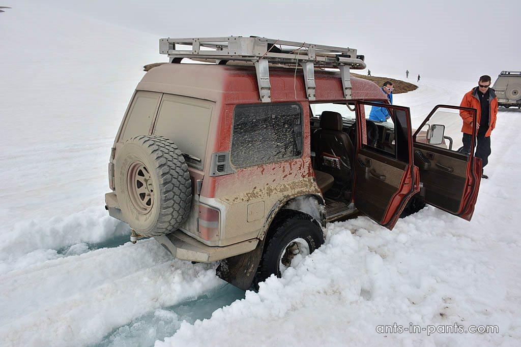 Дорога на Мутновский вулкан. Линза