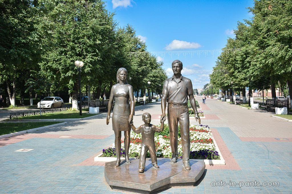 скульптура семти Мари Эл