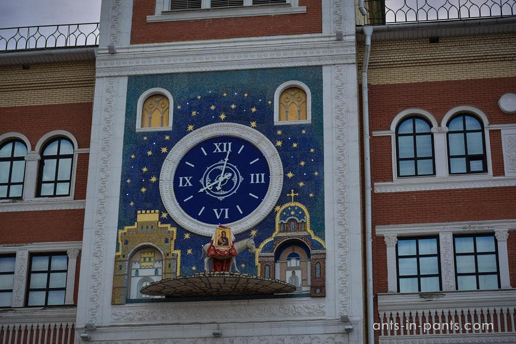 Yoshkar-Ola. Town clock