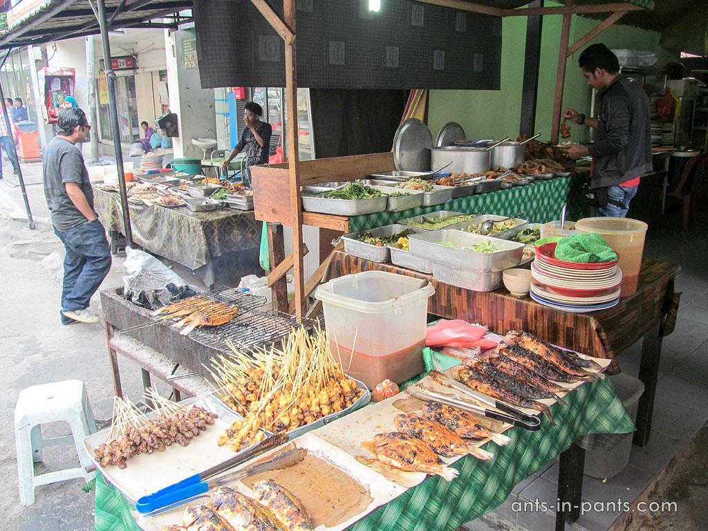 Уличная еда. Малайзия