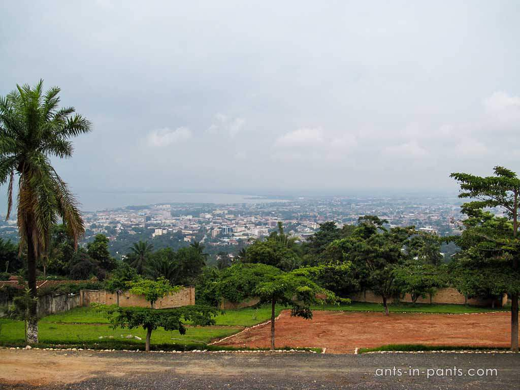 Panoramic view of Bujumbura