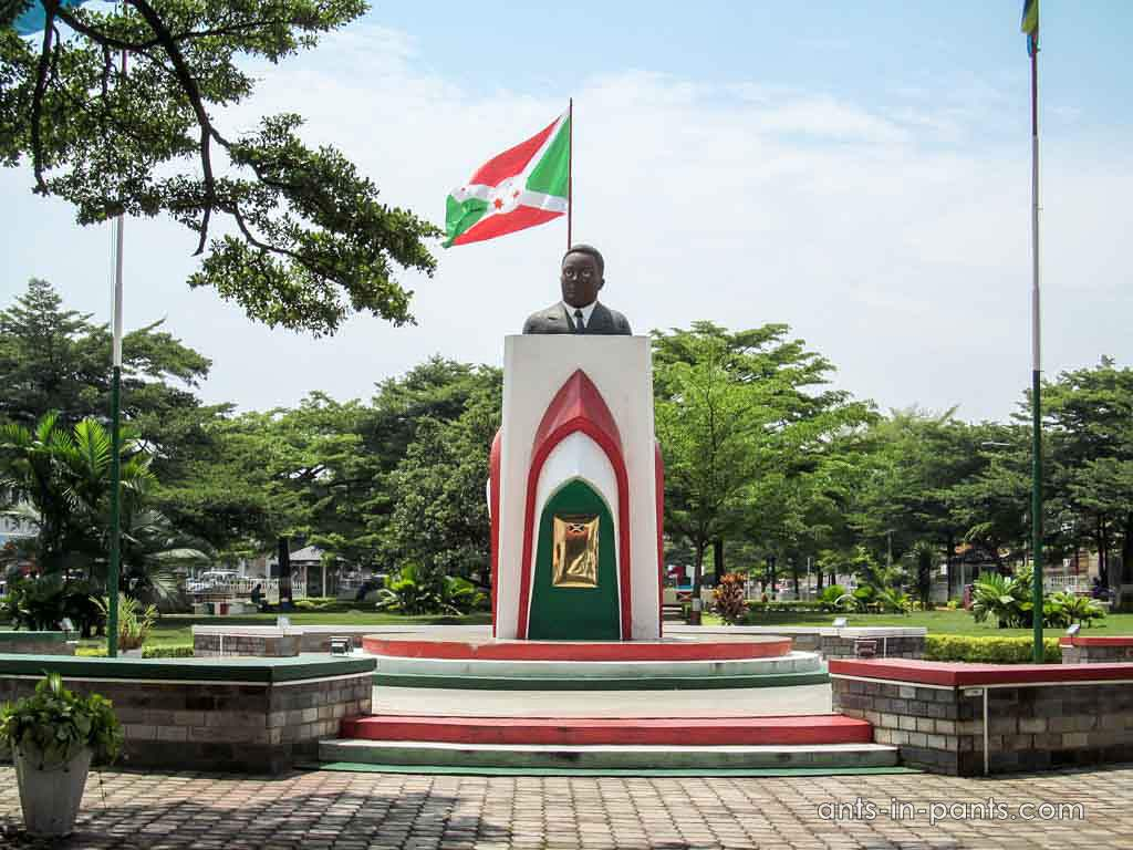monument to some politician
