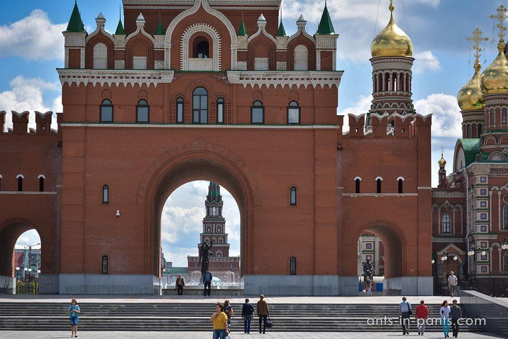 Кремль в Йошкар-Оле