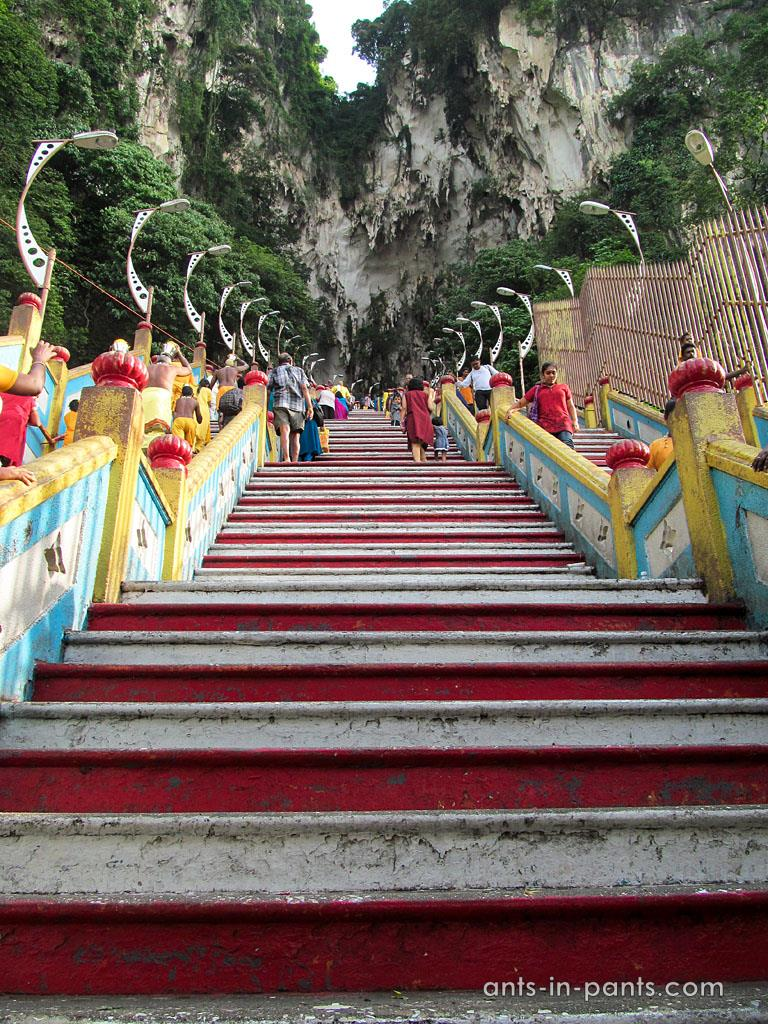 лестница в храм
