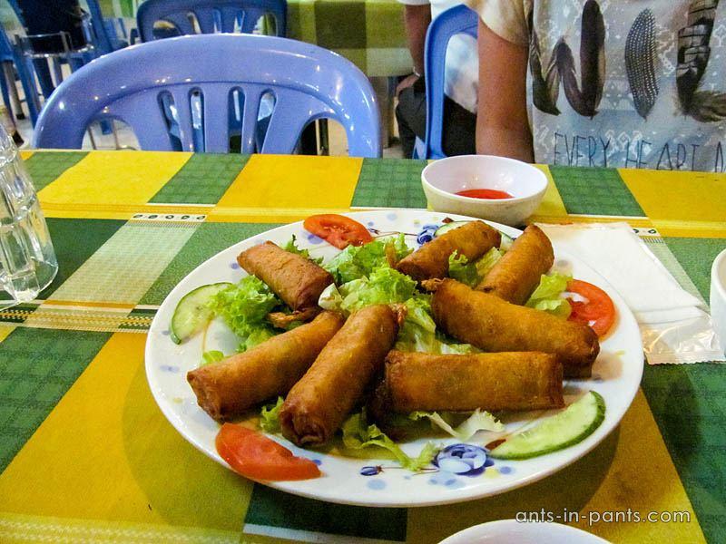 Vietnamese nem rolls