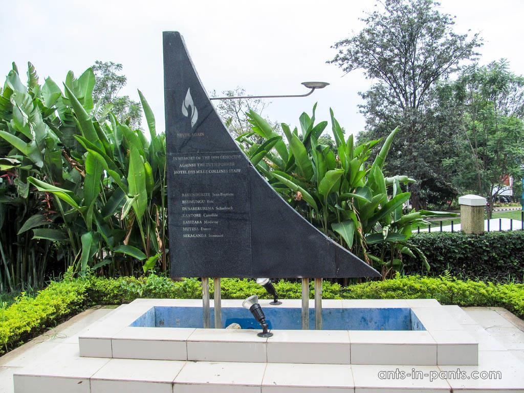 Hotel Rwanda memorial