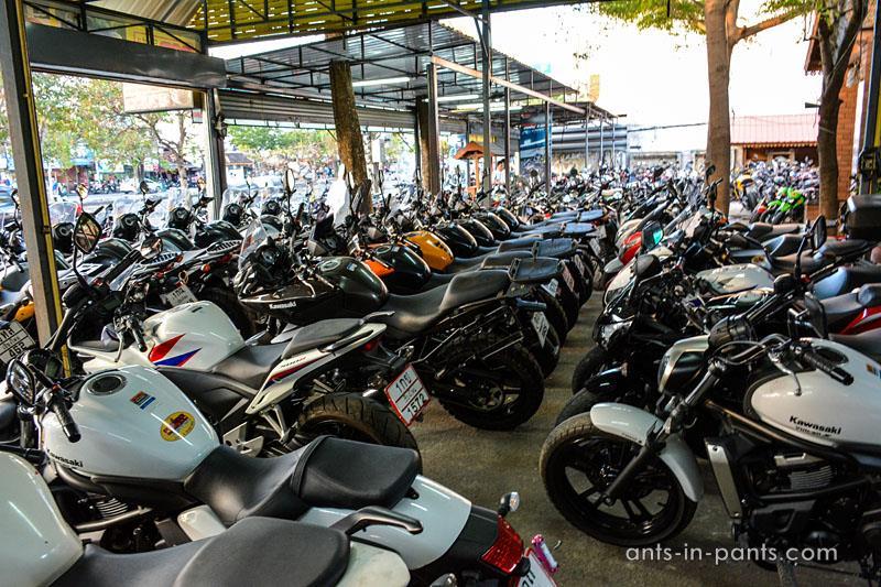 Аренда мотоцикла в Chiang Mai