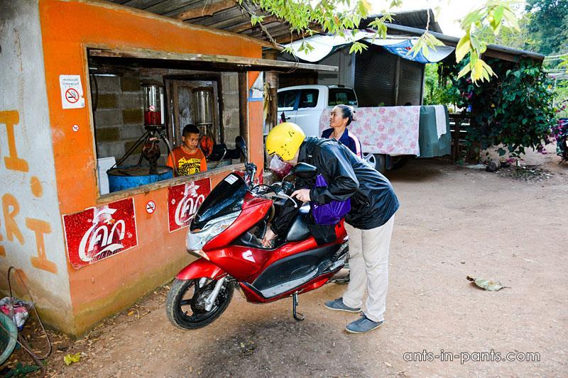 Заправки в Таиланде