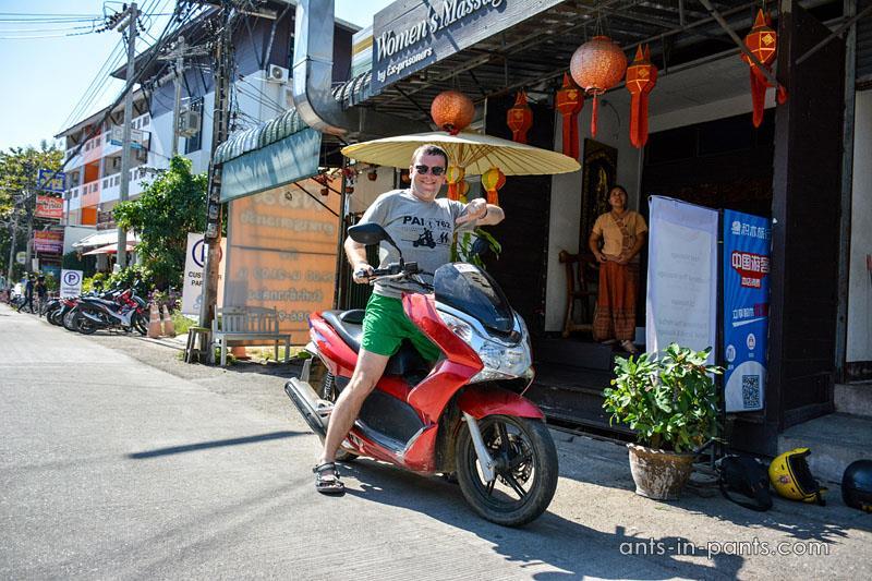 На мотоцикле по северу Таиланда
