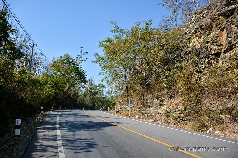 road to Doi Inthanon