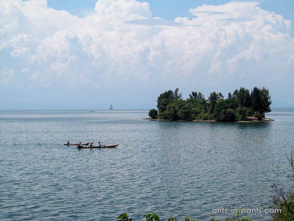 Kivu lake