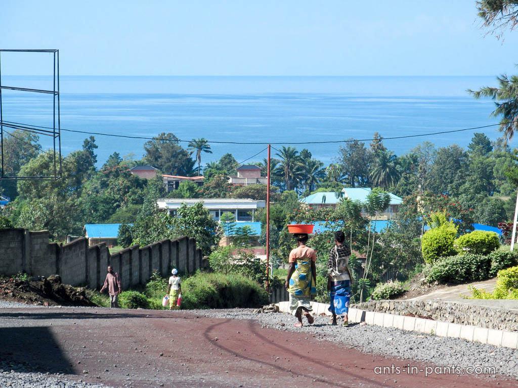 Гисеньи и озеро Киву