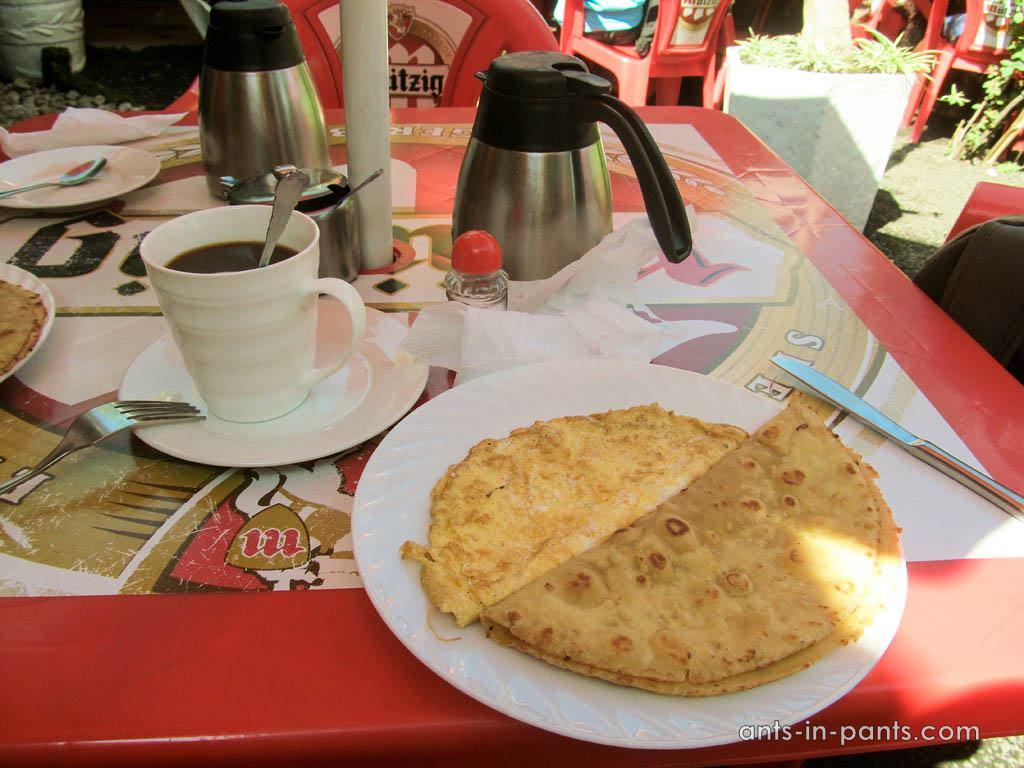 Завтрак в Руанде