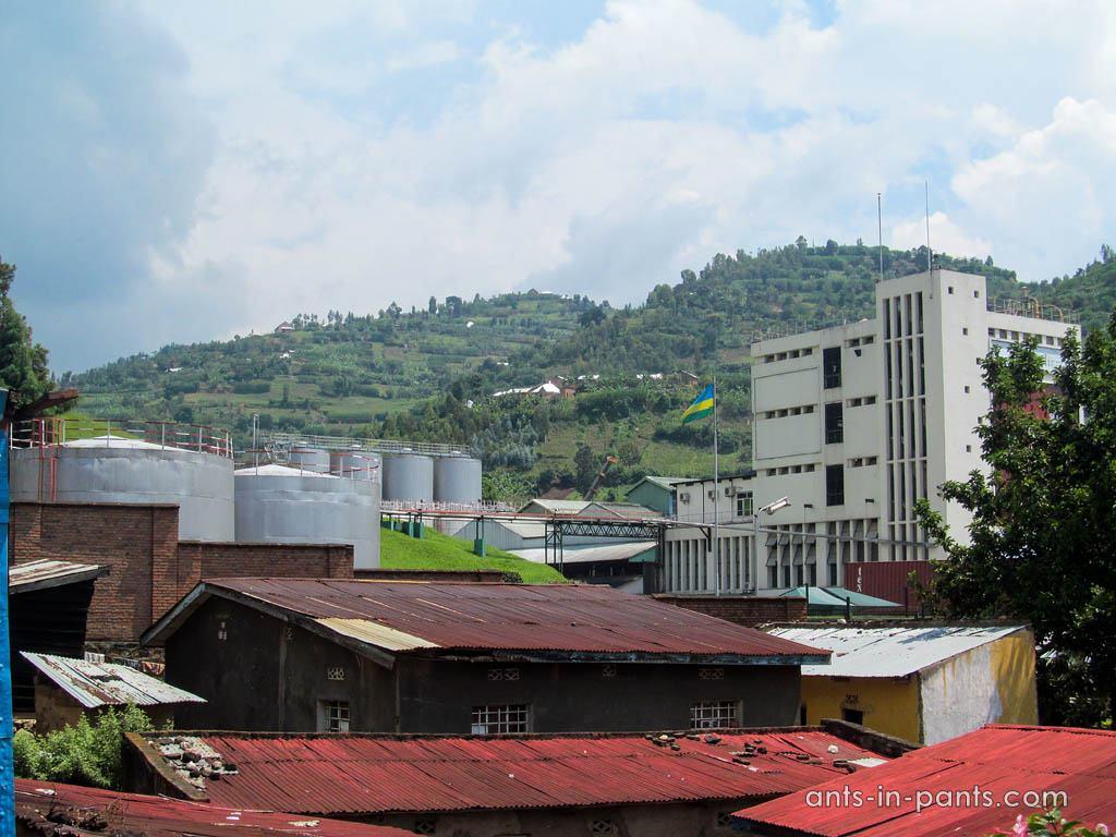 Rwanda brewery