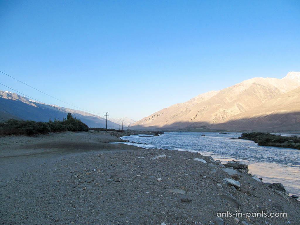 Pjandz river
