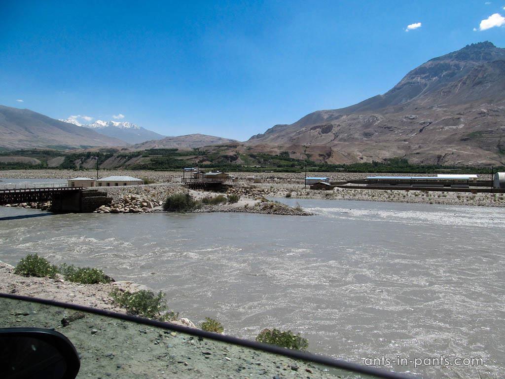 Погранпереход с Афаганистаном