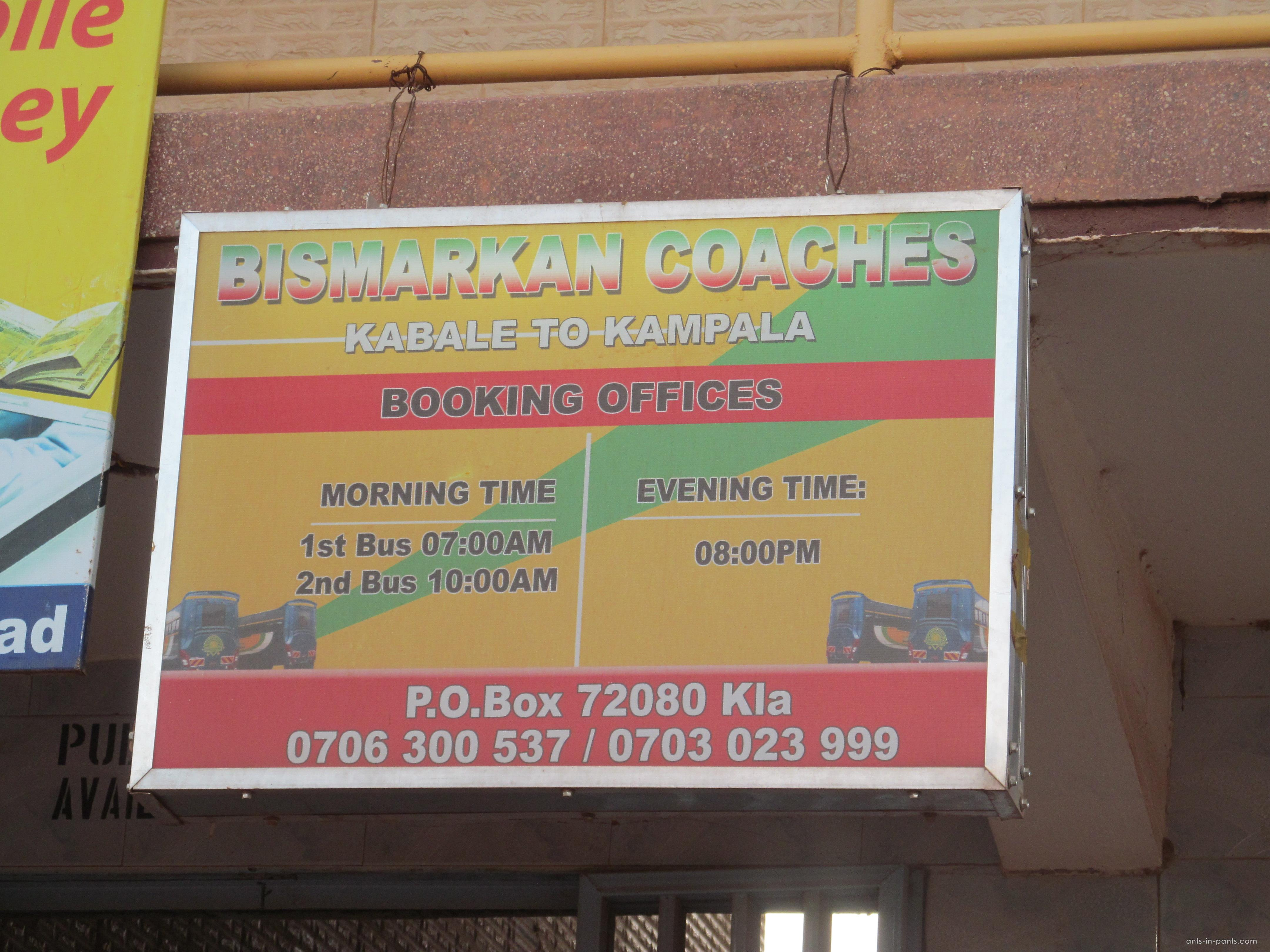 buses from Kabale to Kampala