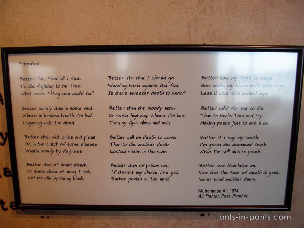 Ali's poem