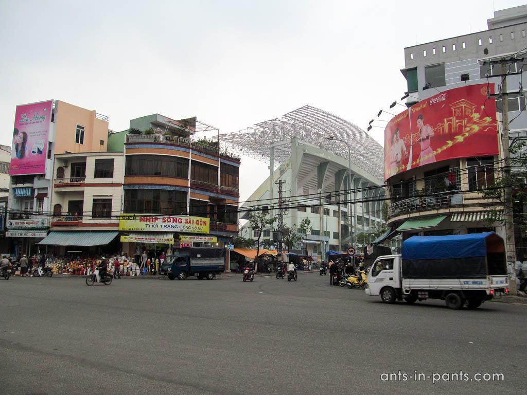 Стадион в Дананг