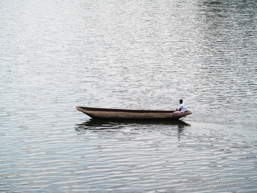 ночлег на озере Буньоньи