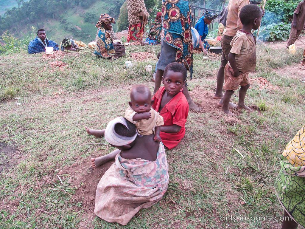 Пигмеи в Уганде