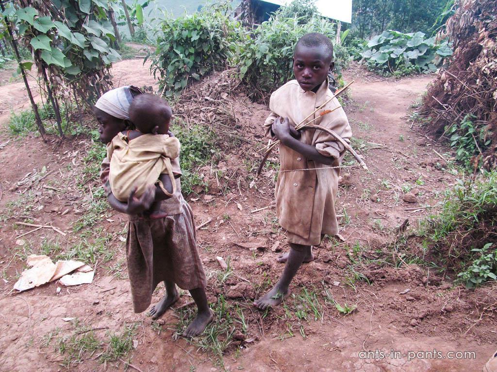 Пигмеи в Африке