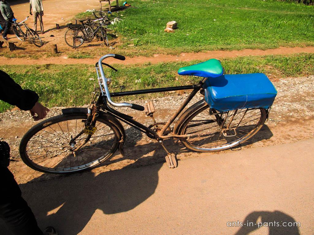 Taxi-bicycle