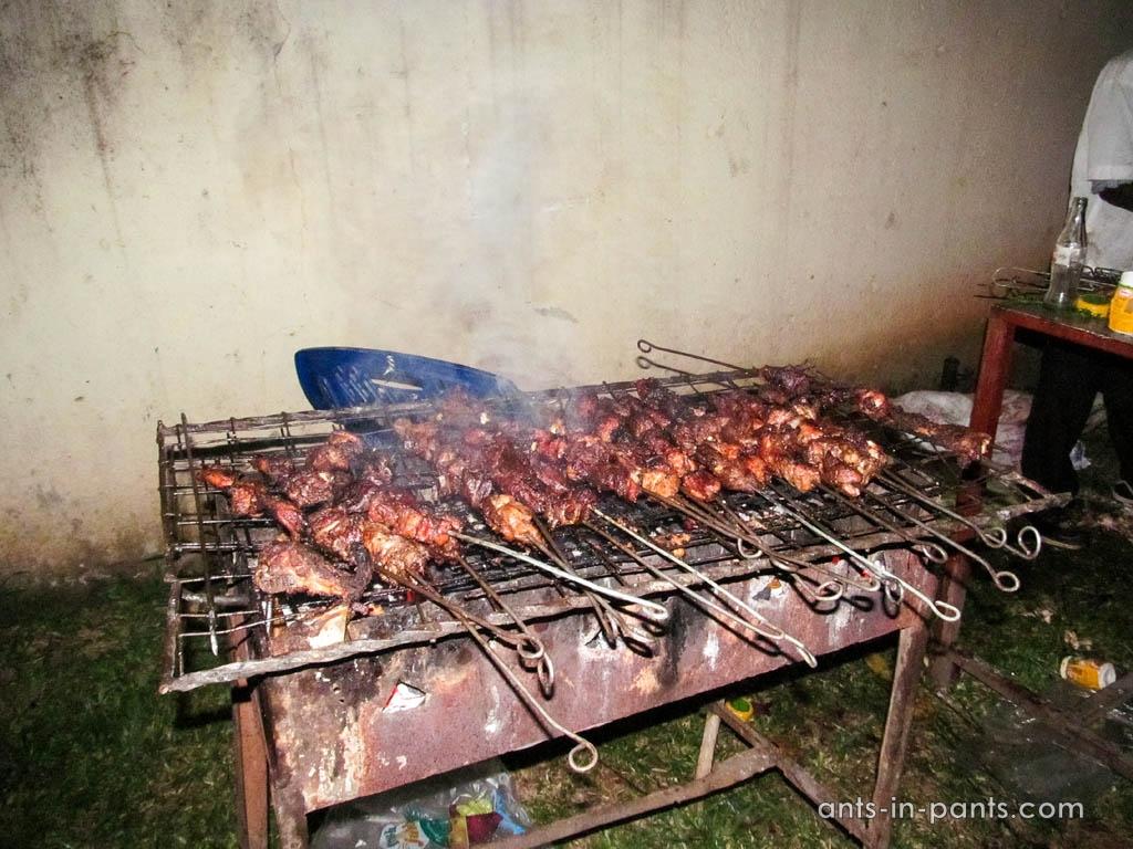 BBQ in Uganda