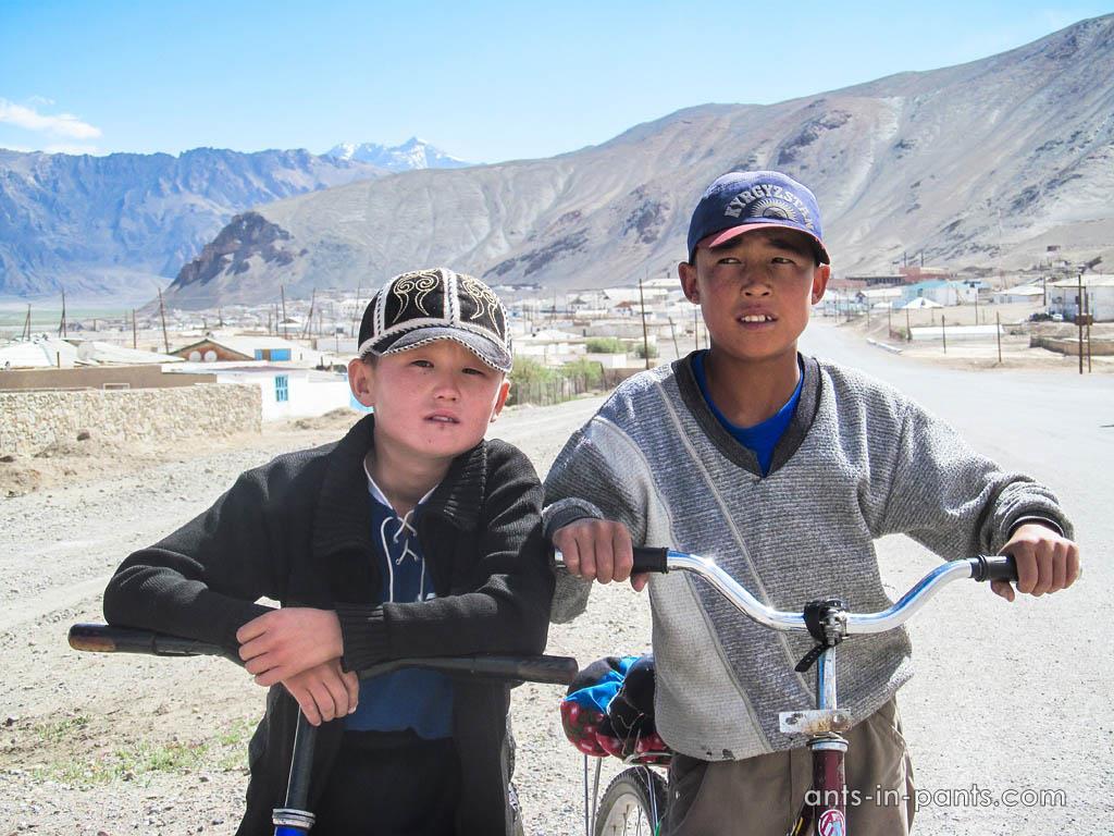 Кыргызксие дети