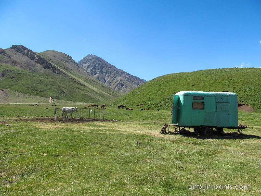 Кыргызская граница