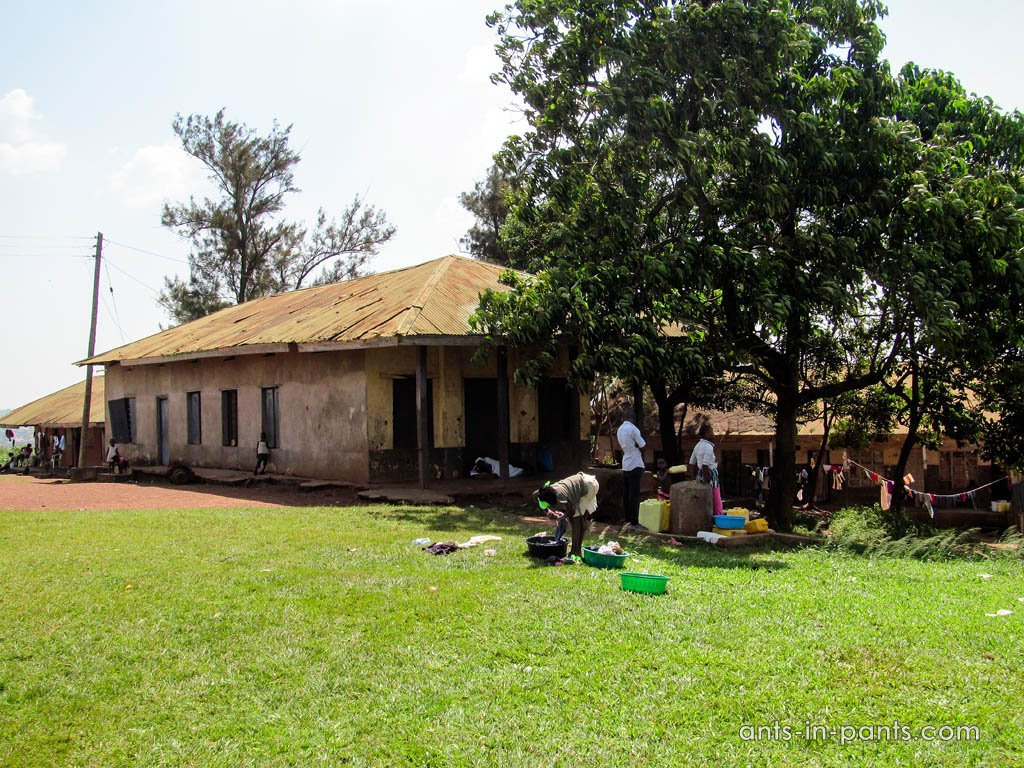 King's palace in Kampala