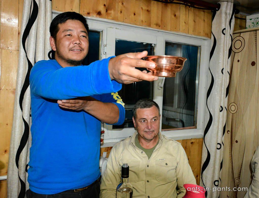 Монгольское гостеприимство