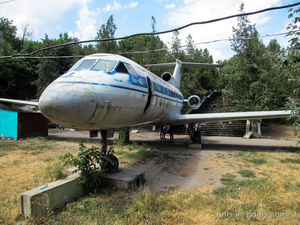 Як-40 в Оше