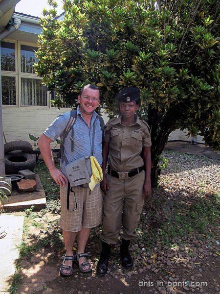 Угандийская полицейская