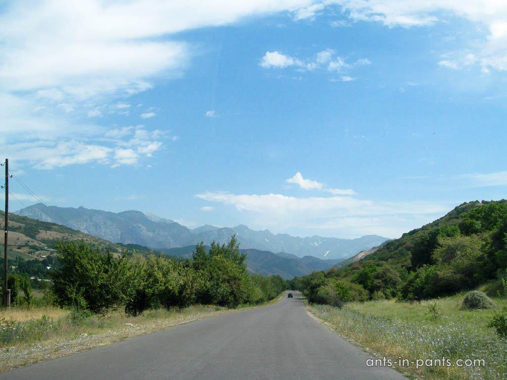 kyrgyz road