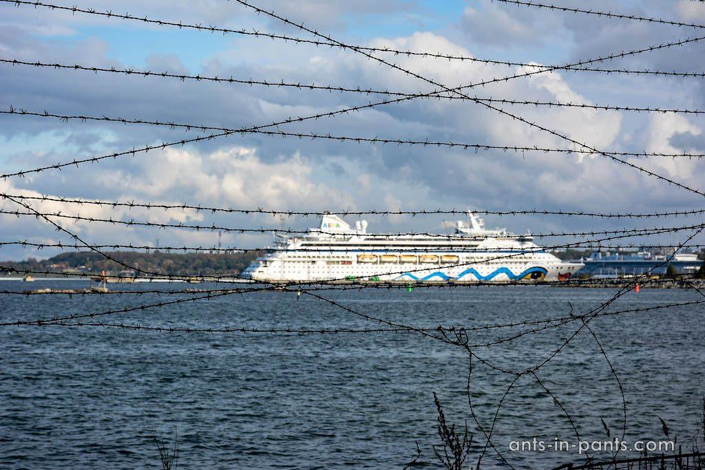 Ships near prison