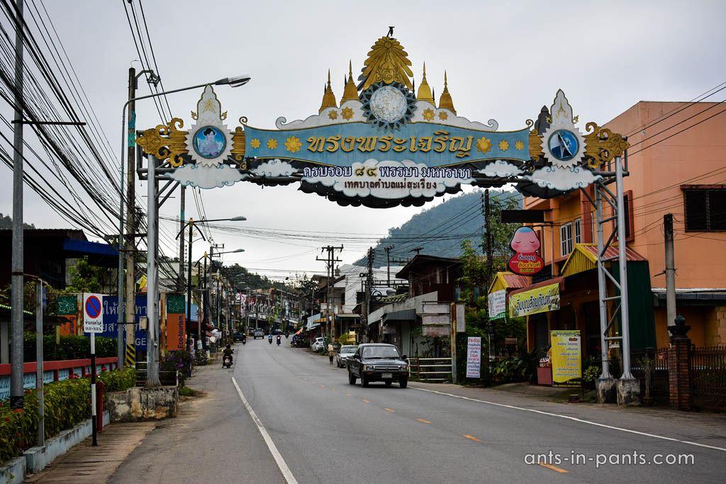 Mae Sariang streets