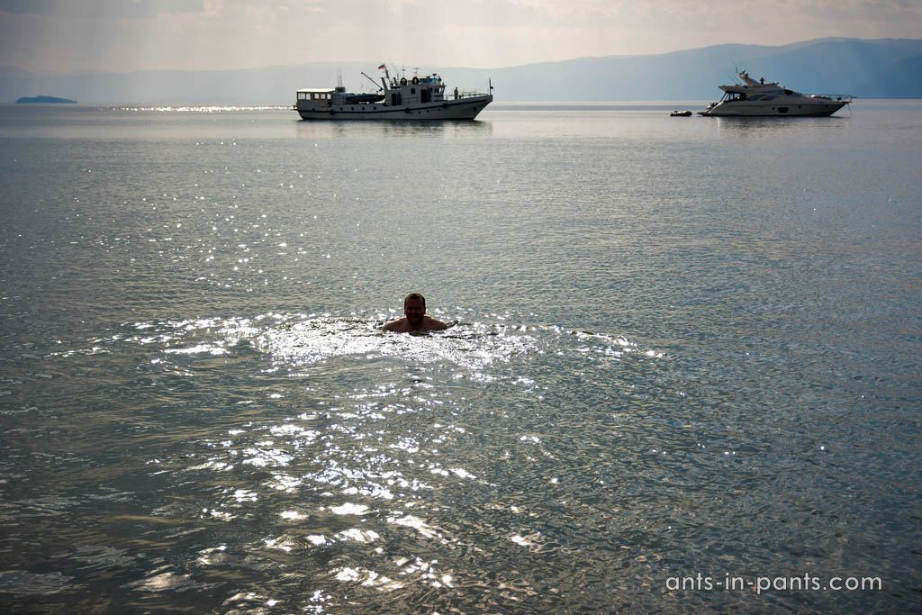 swim im Baikal