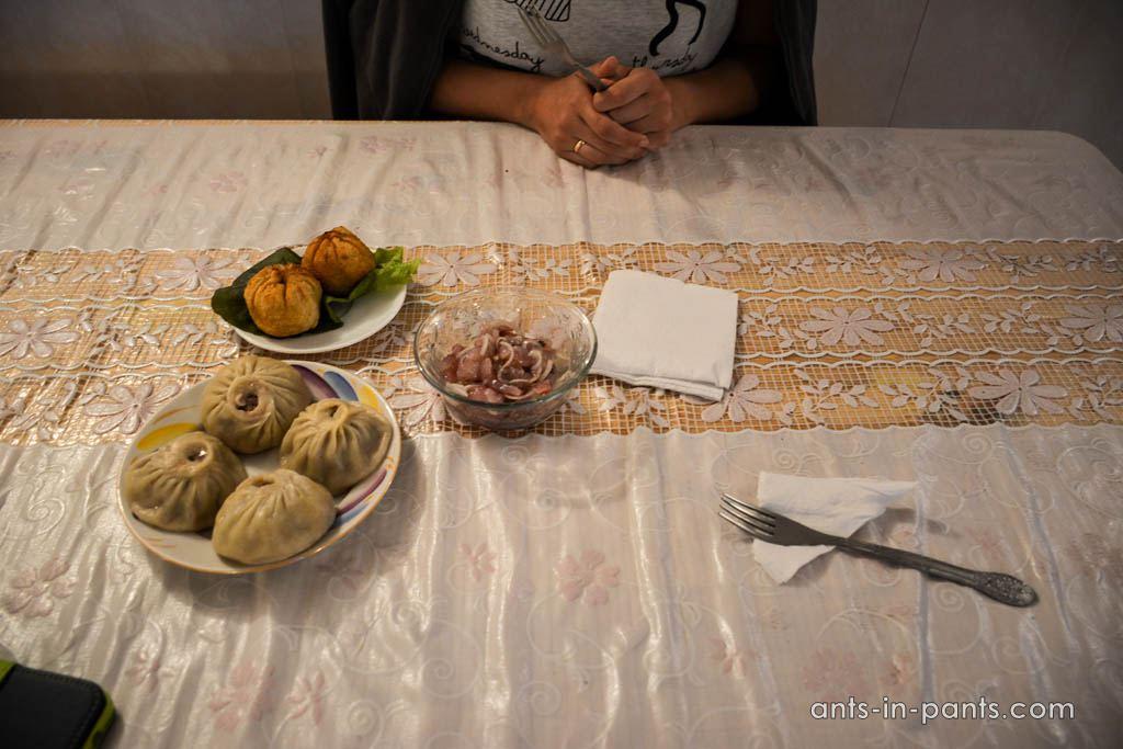 еда на Байкале