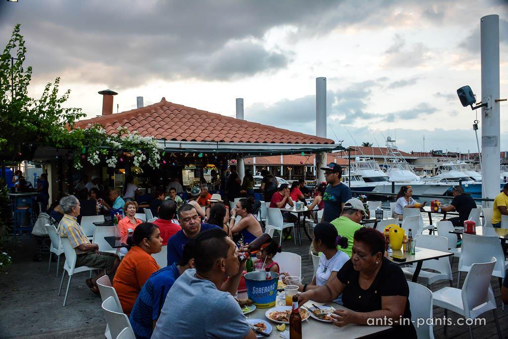 Рыбный ресторан в Панаме