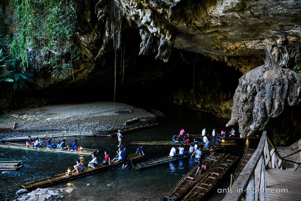 Tham Lot caves